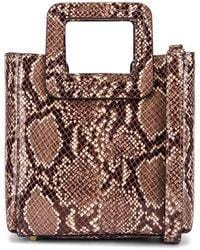 Shirley Mini Tote Faux Snake