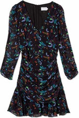 Kathleen Ruched Mini Dress