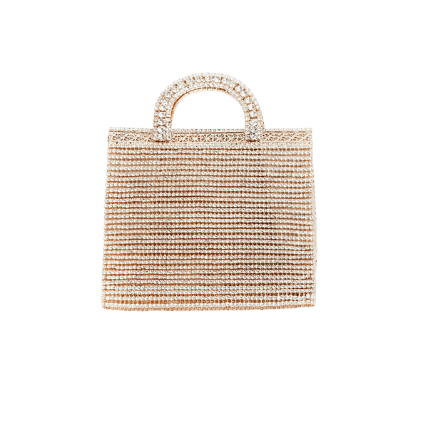 Teodora Bag With Crystals and Crossbody Chain