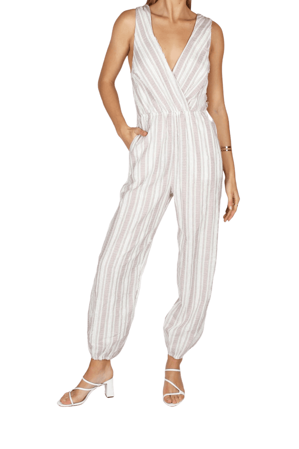 Tigerlily - Rossa Striped Jumpsuit