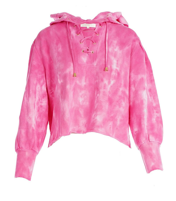 Bevan Cotton Tie-Dye Hooded Sweatshirt