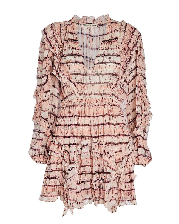 Ulla Johnson - Aberdeen Silk Ruffle Mini Dress