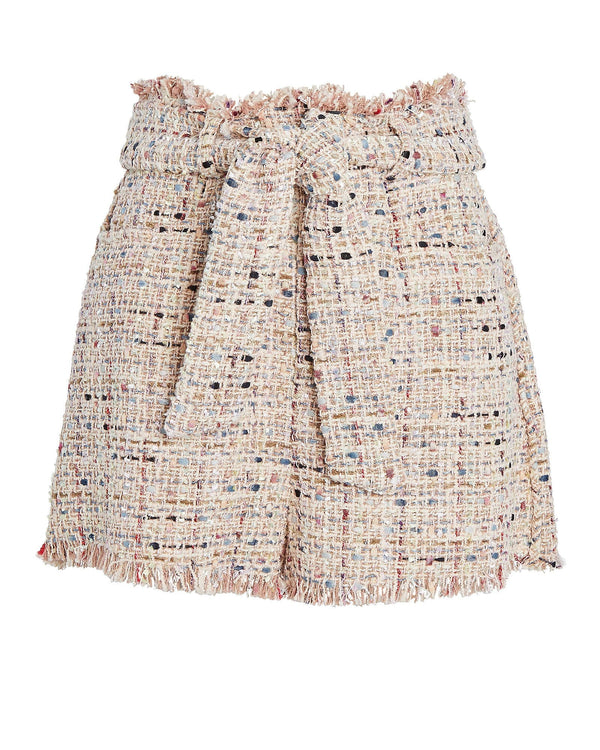 IRO - Vany Pink Multi Tweed Shorts