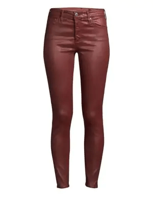 Adriano Goldschmied AG - Farrah Skinny Coated Leatherette - Vintage Tannic