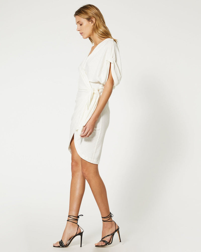 Gidya Crossover Mini Dress