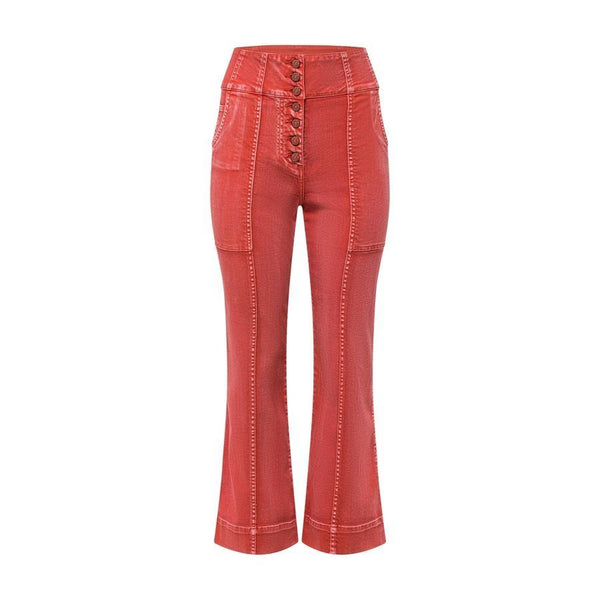 Ulla Johnson - Ellis Jean in Coral