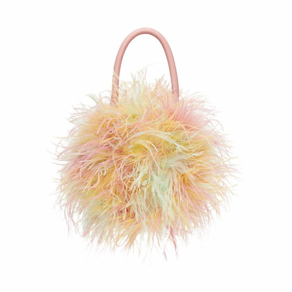 Zadie Feather Circle Tote