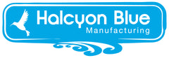 Halcyon Blue CMT Swimwear Factory Logo