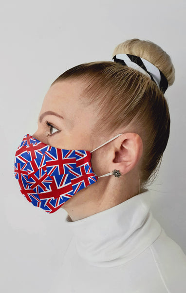 UK made Face Masks by Halcyon Blue