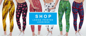 Printed Ladies Leggings Shop by Halcyon Blue