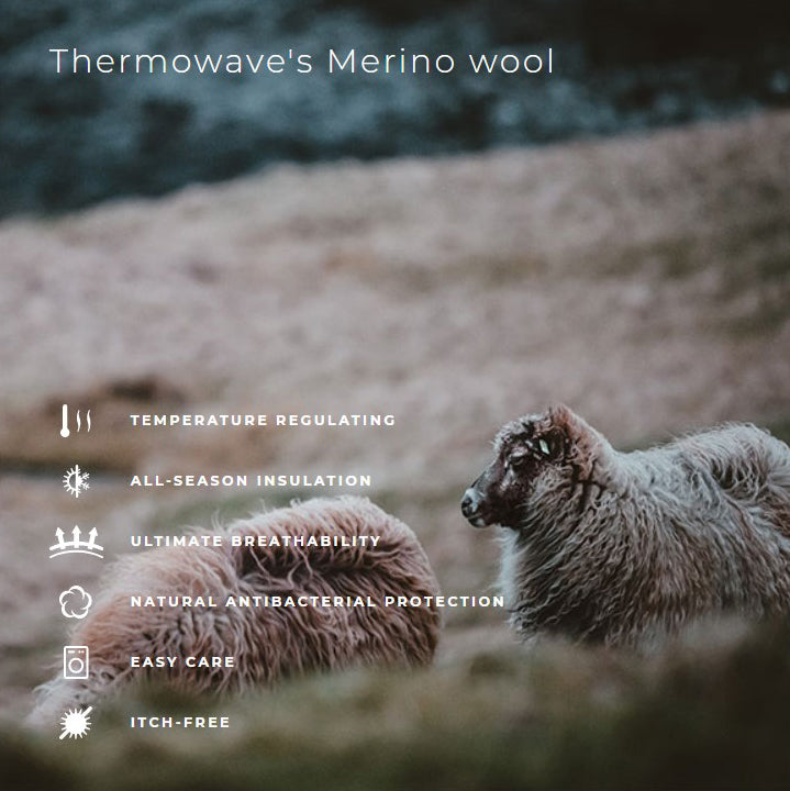 Thermowave Merino Wool Information