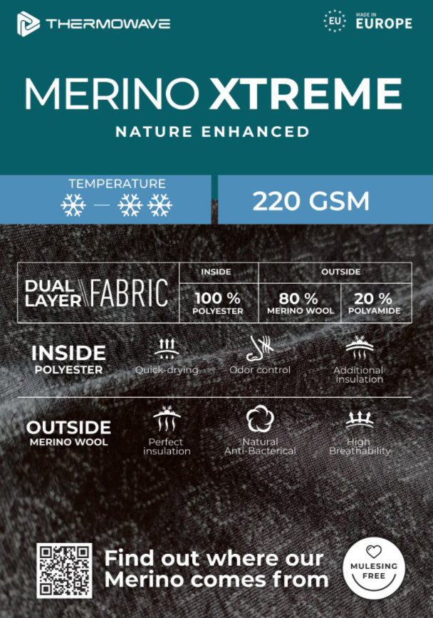 Thermowave Merino Xtreme Information