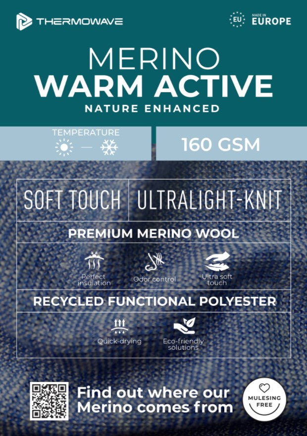 Thermowave Merino Warm Active Information
