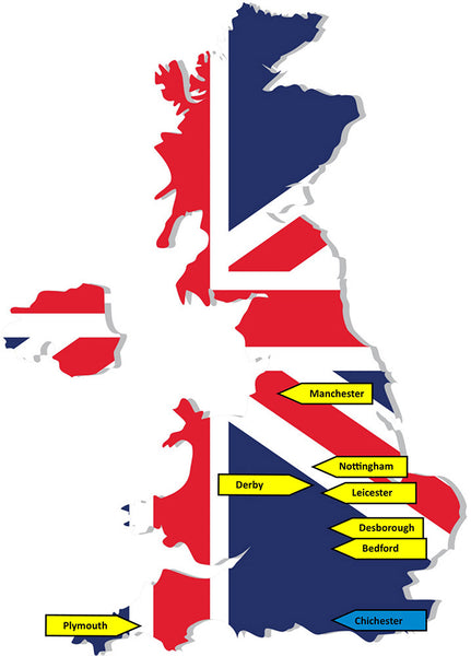 Where we source our UK made components