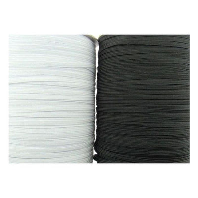 Face Mask Elastic - 4mm Flat Cord