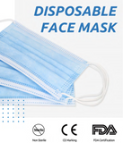 3ply Surgical Face Mask - Single Use