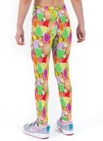 Sugary Sweets Print Lycra Girls Leggings