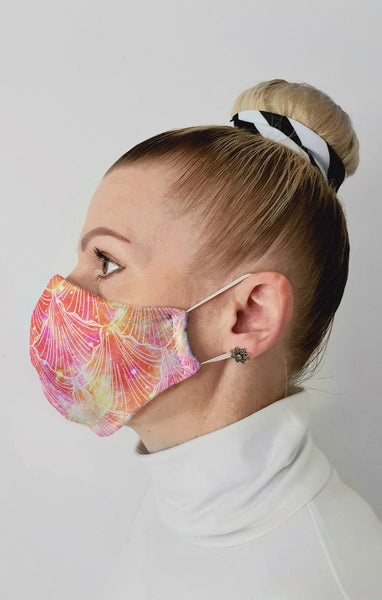 Mystique Recycled Fabric Cotton Face Mask - Washable & Reusable