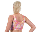 Mystique Print Lycra Crop Top