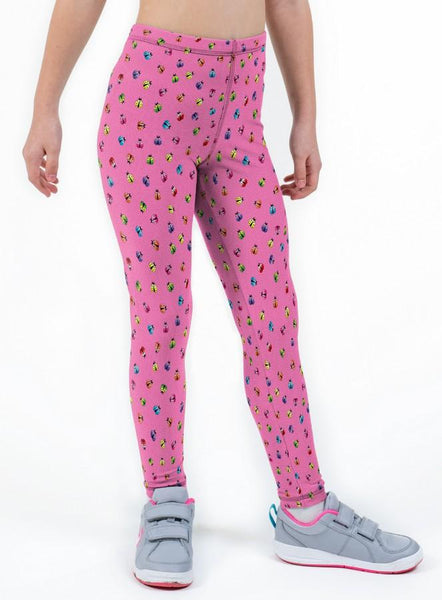 Ladybird Print Lycra Girls Leggings