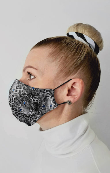 Predator Recycled Fabric Cotton Face Mask - Washable & Reusable