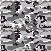 Crazy Camo Recycled Fabric Cotton Face Mask - Washable & Reusable