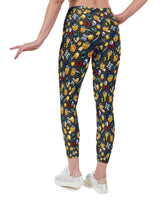 Emoji Workout Print Lycra Leggings