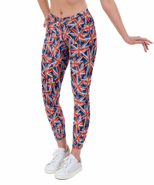 Team GB Print Lycra Leggings