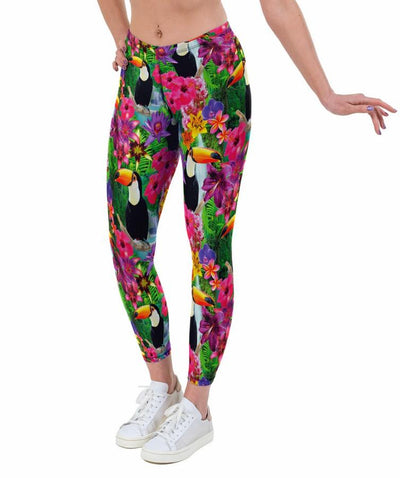 Toucan Print Lycra Leggings