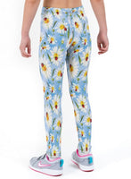 Daisybird Sky Print Lycra Girls Leggings