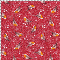 Bobby Robin Red Christmas Print