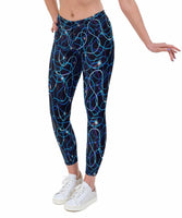 Trail Flare Print Lycra Leggings