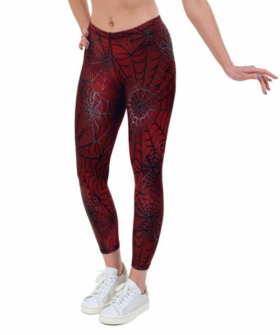 New Spidey Print Lycra Leggings