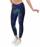 Tri Tech Print Lycra Leggings