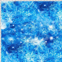 Frozen Blue Christmas Print