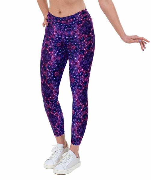 Baubles Print Lycra Leggings