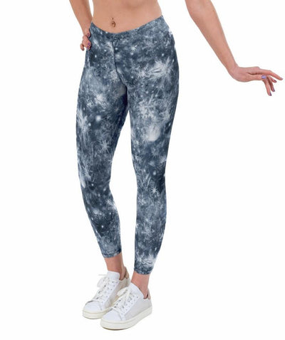 Chillout Silver Print Lycra Leggings