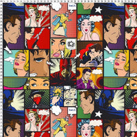 Pop Art Comic Print