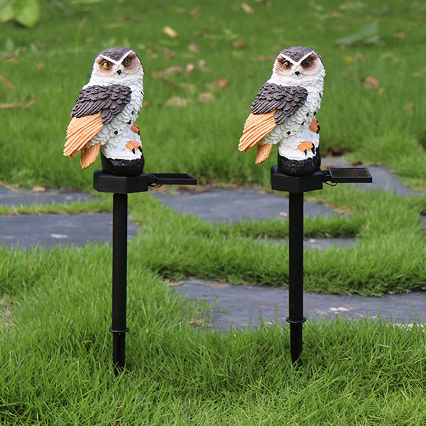 Solar Owl Light