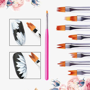 PetalChic Flower Nail Art Brush Pen