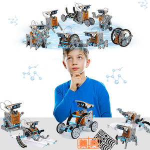 12-in-1 Education Solar Robot Toys(Buy 2 Free Shipping,enjoy 10% off )
