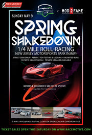 The Roll-Racing Spring Shakedown at NJMP - Racer (Covers the Driver Only)