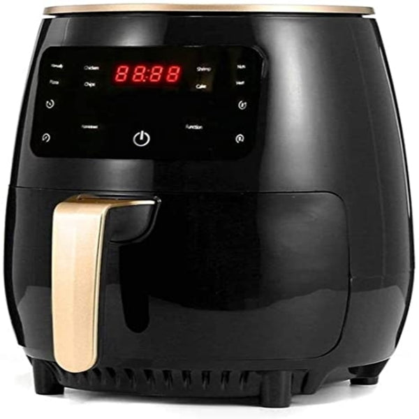 1200W 4.5L Air Fryer Oil free Health Fryer Cooker Home Multifunction Smart Touch LCD Deep Airfryer Pizza Fryer for French fries