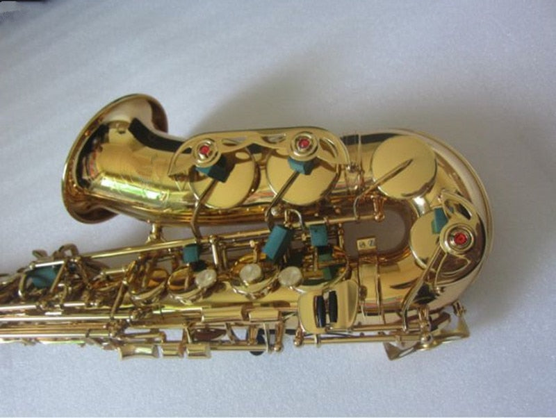 High quality yas82Z yas875 yas62 Model Alto Saxophone E flat Electrophoresis Instruments and Hard box