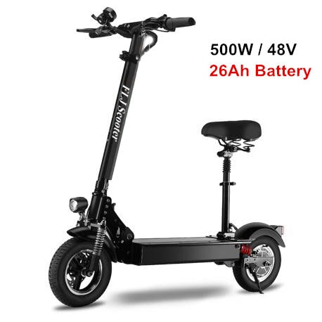 FLJ 1200W 500W Electric Scooter for Adult with seat foldable kick scooter hoverboard skateboard bicycle electrical bike