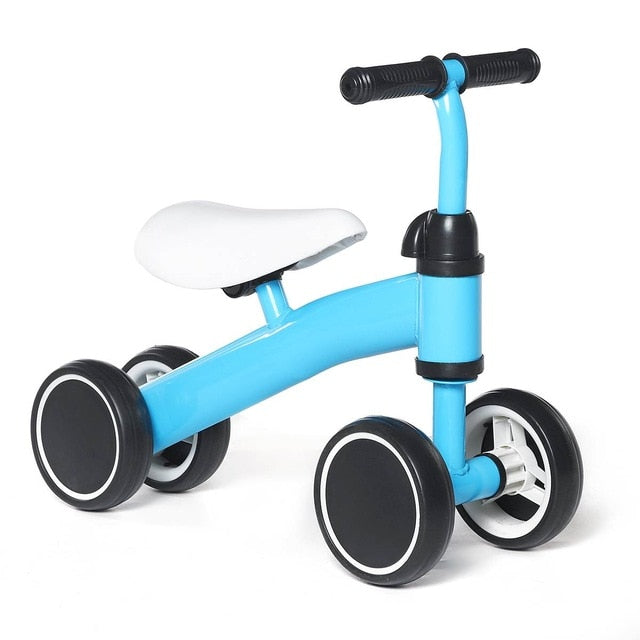 Mini Baby Balance Bike Bicycle Walker Indoor Outdoor Kids Toys Gift for 1-3 years Old Children Learning Walk Scooter - WizWack