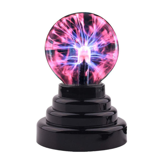 Plasma Ball Atomosphere Night Light Lava Lamp Supply By USB and AAA Batteries Kids Gift 2020 Magic Lightning Bolt LED Lampen