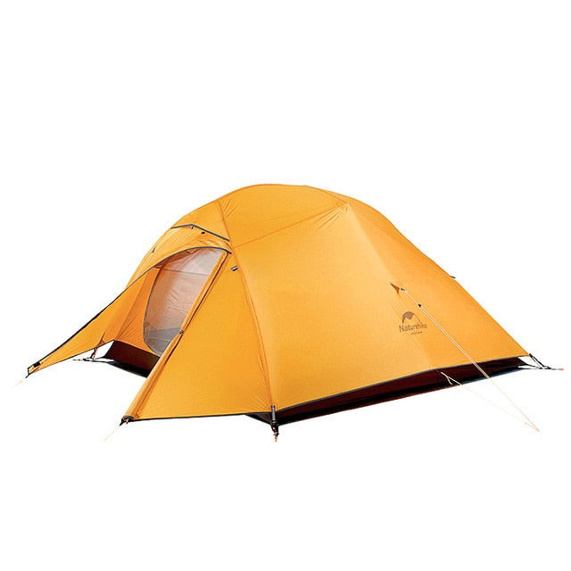 Naturehike Cloud Up Series 20D Nylon Ultralight Camping Tent Waterproof Wind-proof HikingTent For 3 Person NH18T030-T - WizWack