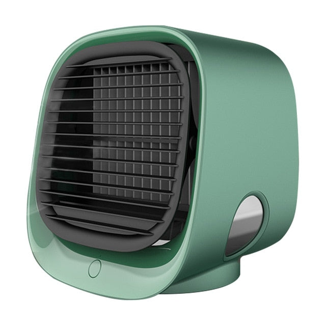Mini Air Cooler Fan, Air Conditioner, with Night Light and Mini USB - WizWack
