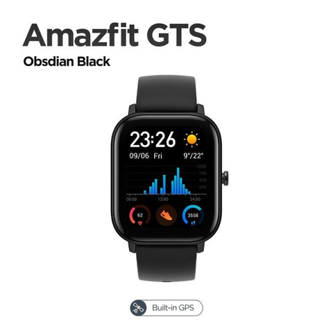 Amazfit GTS Smart Watch 5ATM Waterproof Swimming Smartwatch 14 Days Battery Music Control for Android